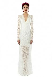 Koronkowa suknia ślubna. Pr...