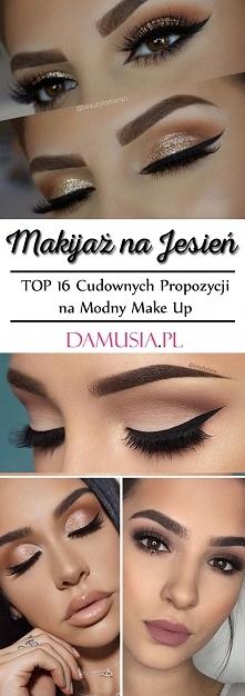 Makijaż na Jesień: TOP 16 Cudownych Propozycji na Modny Make Up