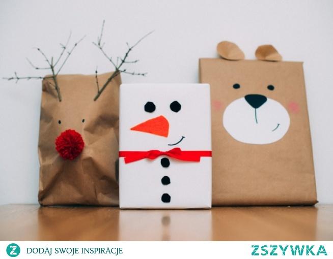 Prosty pomysł na pakowanie prezentu