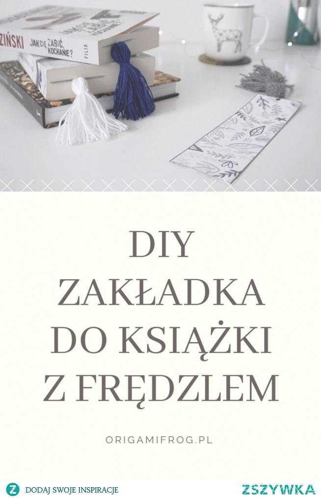 Zrób to sam Zakładka do książki z frędzlem Zakładki do druku - 3 wzory