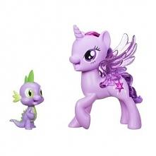 Zestaw My Little Pony Twilight śpiewająca ze Spikiem C0718