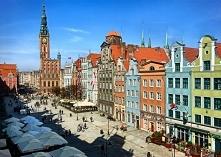 Stare Miasto w Gdańsku. Zapraszamy na puzzle.