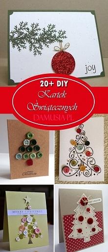 DIY Kartki Świąteczne: TOP 20+ Ciekawych Propozycji na Ręcznie Robione Kartki Świąteczne