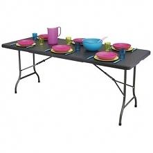Stół cateringowy bankietowy ogrodowy ratan