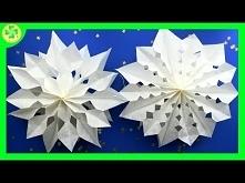 Jak zrobić - Gwiazdka z papierowych torebek / How to make - Paper Bag Star