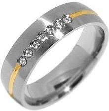 Silvego Zaręczynowy Pierścień Stalowy Dla Kobiet rrc2048 Paris-Z (Obwód 52 Mm)