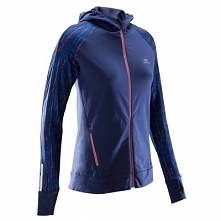 Bluza do biegania RUN WARM HOOD damska