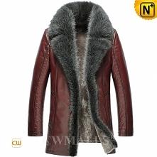 Black Friday 2018 | CWMALLS® Denver Men Shearling Fur Coat CW808416 [Custom M...