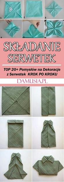 Składanie Serwetek – TOP 20+ Pomysłów i Inspiracji na Ciekawe Dekoracje z Ser...