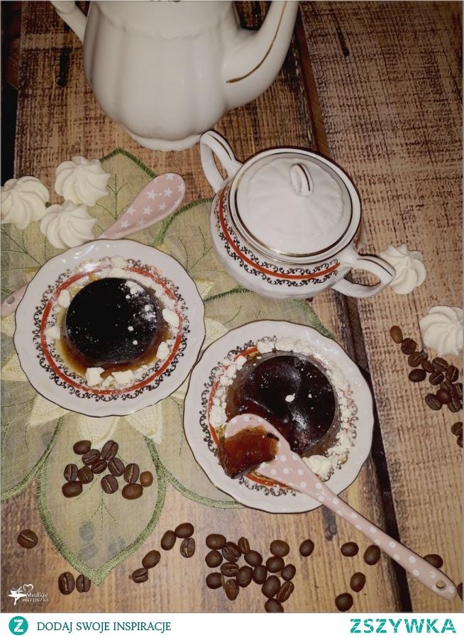 Kawowe galaretki z nutą amaretto