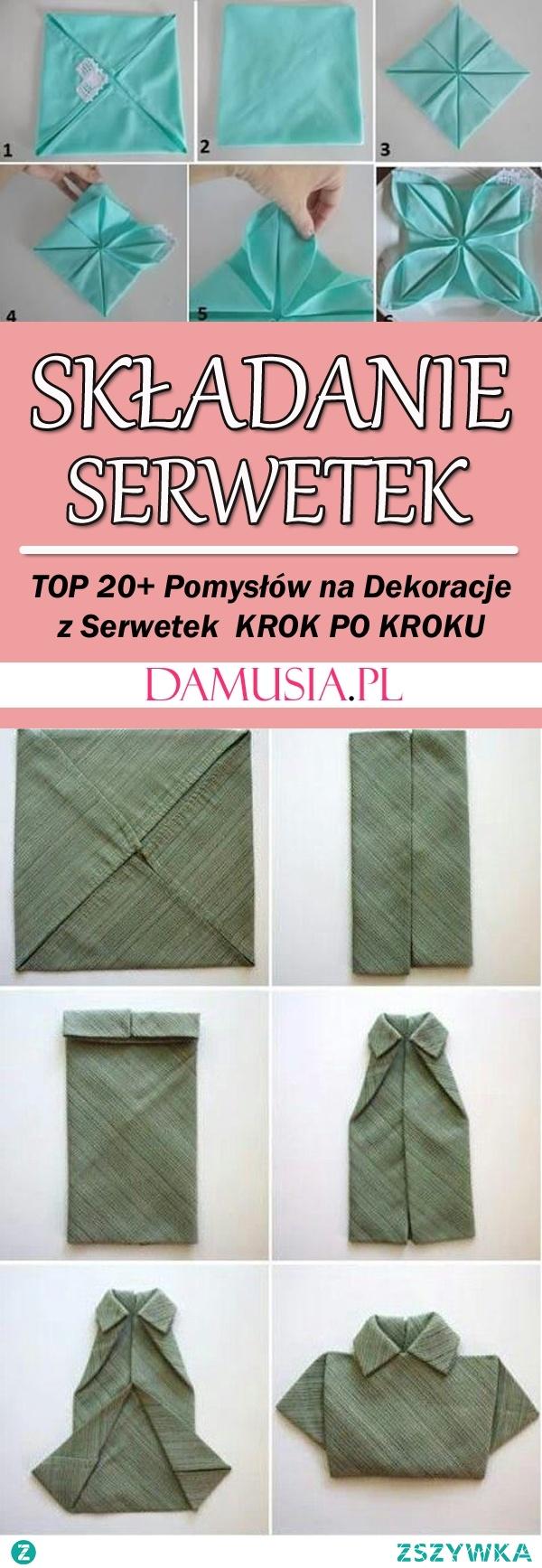 Składanie Serwetek – TOP 20+ Pomysłów i Inspiracji na Ciekawe Dekoracje z Serwetek Krok po Kroku