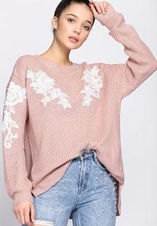 Różowy Sweter Gracefulness