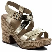Sandały JENNY FAIRY - LS4448-05 Złoty