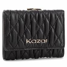 Duży Portfel Damski KAZAR - 34483-01-00 Black