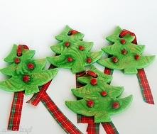 Choinki świąteczne. Zawieszki dekoracyjne z kolekcji Weihnachten