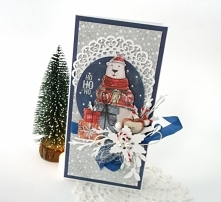 Wyjątkowa kartka świąteczna...