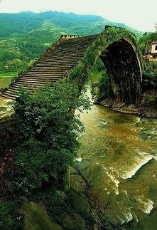 Most księżycowy w Chinach. Zapraszamy na puzzle, wystarczy kliknąć w obrazek!