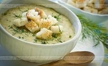 Zupa koperkowa na cielęcinie