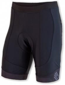 Sensor Męskie Spodenki Rowerowe Cyklo Race Black