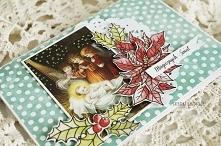 Klasyczna kartka świąteczna...