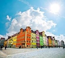Kolorowy rynek we Wrocławiu. Zapraszamy na puzzle!