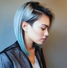 odważna fryzura