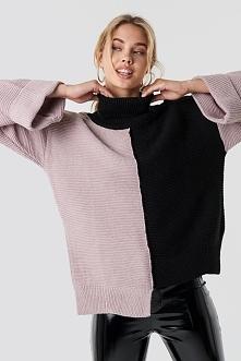 Trendyol Kolorowy sweter - Black,Pink,Multicolor