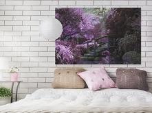 Tajemniczy ogród - fotoobraz do sypialni