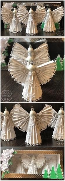 papierowe aniołki :)
