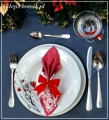 #corazbliżejświęta #ChristmasIsComing #Christmas #table #dishes #Christmastable #Wednesday #decoration Eleganckie, modne i wyjątkowe zastawy stołowe -sklep.chomik.pl