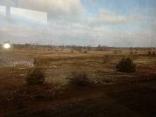 Takie widoki, tylko z okna pociągu...