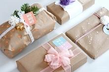 Pomysły na pakowanie prezentów+ etykiety do wydruku