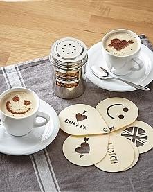 Uśmiechnięta kawa.