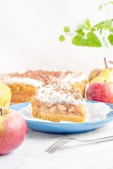 Obłędne ciasto jabłkowo-gru...