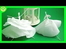 Jak zrobić - Baletnica z bibuły / How to make a Tissue Paper Ballerina
