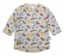 Gelati T-Shirt Chłopięcy Dinosaur 80 Szary