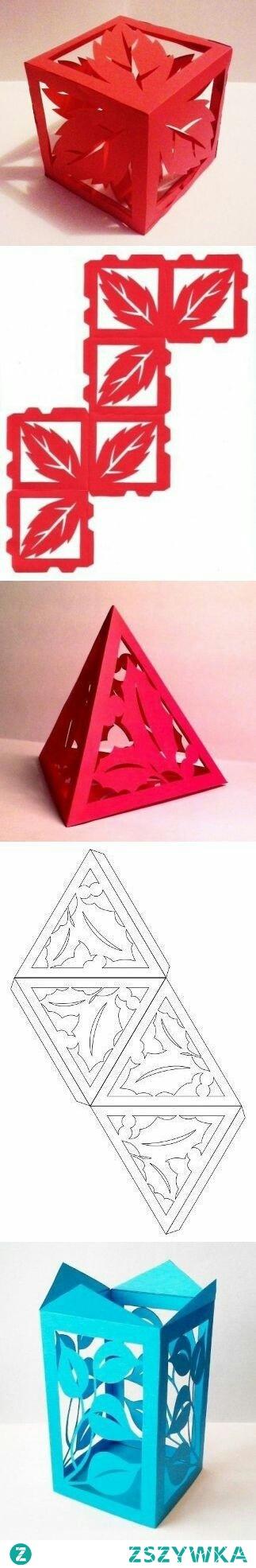 Lampioniki z papieru