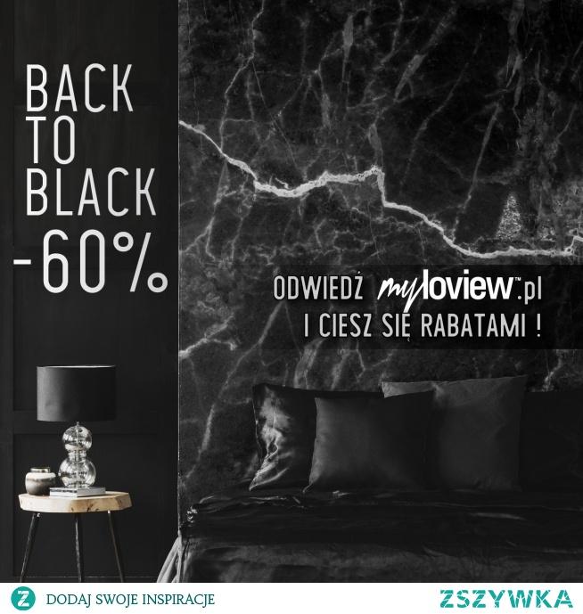BACK TO BLACK - powtarzamy Czarny Weekend! -60% na wszystkie dekoracje w sobotę i niedzielę!
