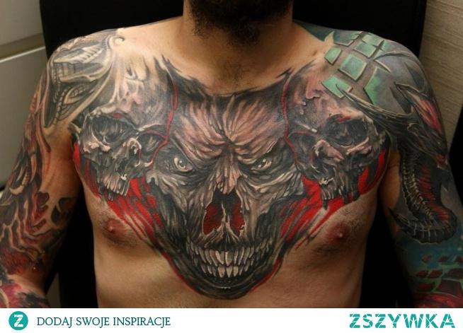 demony na tatuaż