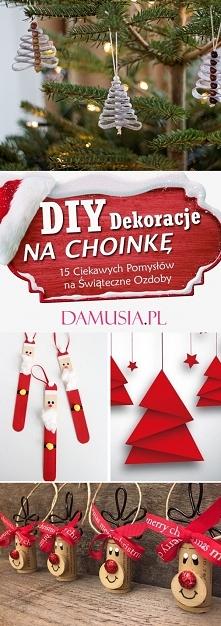 DIY Dekoracje na Choinkę: T...