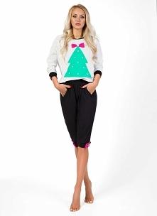 świąteczna piżamka w stylow...