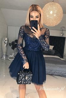 Tiulowa sukienka na studniówkę <3 Tylko w Illuminate <3