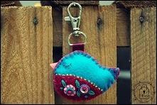breloczek ptaszek - T-Bags