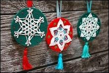 świąteczne medaliony - T-Bags