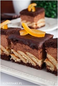 Tortowe ciasto czekoladowe