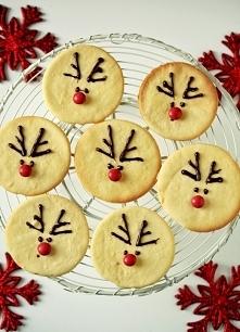Ciasteczkowe Rudolfy