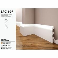 Elastyczna listwa przypodłogowa LPC-19F producenta Creativa to model Flex. Profil bez zdobień, gładki z delikatnym zaokrągleniem dekoracyjnym. Super sprawdzi się w aranżacjach n...
