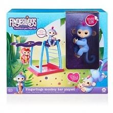 Figurka Fingerlings plac zabaw z huśtawką zestaw