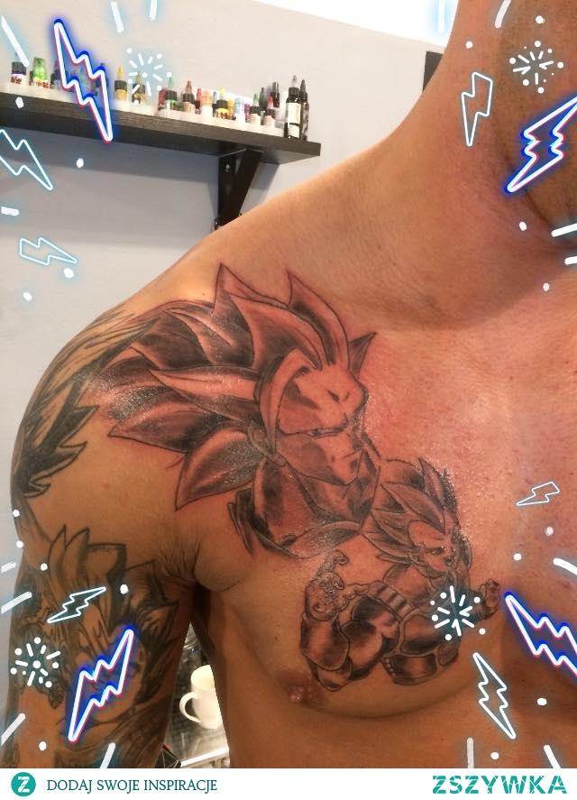 Dragon Ball Na Tatuaże Zszywkapl
