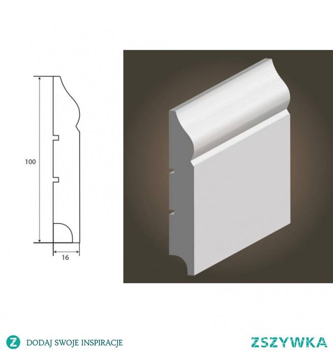 Atena 100 wilgocioodporna, biała listwa przypodłogowa MDF producenta Lagrus PLUS. Model Atena 100 to lakierowana listwa przypodłogowa wykonana z MDF-u malowana fabrycznie na biały kolor Ral 9003 półmat. Kształt listwy przypodłogowej z Mdf-u jest elegancki z subtelnym przetłoczeniem w górnej części, który idealnie wkomponuje się w aranżacje i wnętrza klasyczne jak i współczesne.